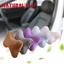 Wholesale Seat Cars For Sale - Wholesale- Hot sale 3 colors Quality Memory Latex Car headrest Neck Support travel Head Rest Cushion for a car seat headrest Neck Pillow