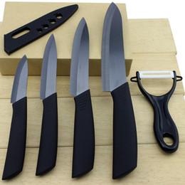 "Wholesale Best Paring Knives - Brand top quality best present Zirconia Ceramic Knife set 3"" 4"" 5"" 6"" inch+ Peeler+Covers fruit knife set Kitchen Knife set Free Shipping"