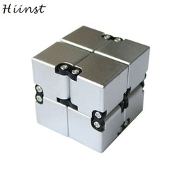 Wholesale Funny Squares - Luxury Edc Infinity Cube Mini For Stress Relief Fidget Anti Anxiety Stress Funny Decompression Magic Square Aug15