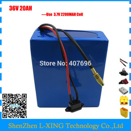 Wholesale lithium batteries for e bike - 36V 1000W E-bike lithium ion battery 36v 20ah electric bike battery For 36V 1000w 500w 8fun bafang motor with charger BMS