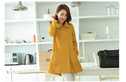 Wholesale Topcoat Ladies - Wholesale-new autumn & winter woolen coat Women's overcoat Ladies' surcoat topcoat