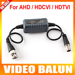 Wholesale Bnc Video Ground Loop - HD Coaxial Ground Loop Isolator Video Balun BNC Male to Female For Analog HD CCTV Camera AHD TVI CVI