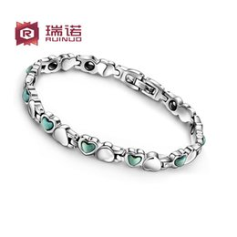 Wholesale Ge Bracelets - Most of Korean fashion's Ms. Ge magnetic bracelet jewelry jewelry heart-shaped female lettering Valentine's Day gift