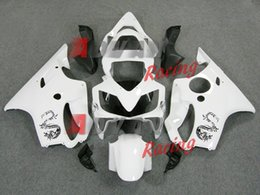 Wholesale Dragon Mold - White black dragon pattern painted with cool Nordic custom injection mold fairing Honda CBR600 F4i 2001-2003 31