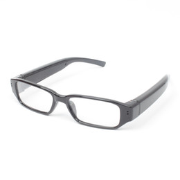 Wholesale Digital Video Recorder Pc - 12MP COMS Full HD 1080P Fashion Eyewear Glasses camera eye protective glasses mini dvr USB Disk PC webcam Digital Video recorder camera