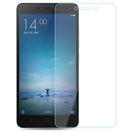 Xiaomi Mi3 Mi4 Mi4i Mi4C Mi Nota Hongmi Redmi Redrice Nota 2 Nota 3 Protector de pantalla de cristal templado Premium real con paquete desde fabricantes