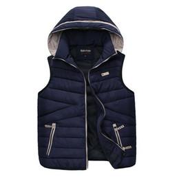 Wholesale Vest Winter Jacket Men - FG1509 Women Men Vest Autumn Winter Colete Masculino 2015 Brand Cotton-padded Waistcoat Outerwear Sleeveless Jacket Men ZHY1803