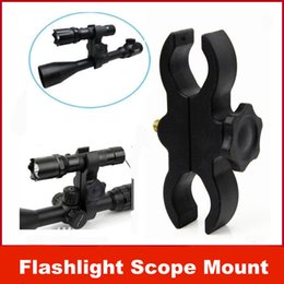 Wholesale Shotgun Laser Mounts - New Barrel Mount for Flashlight Torch Telescope Sight scopes Lasers Lights gun shotgun