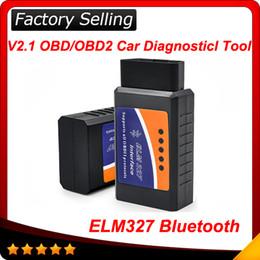 Wholesale Obd2 Free Scanner Peugeot - 2016 ELM327 bluetooth ELM327 family tools V2.1 OBD2 ELM327 bluetooth CAN-BUS Scanner 50pcs lot free shipping