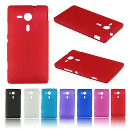 Wholesale M35h Case - Delicate Matte TPU Silicone Gel Case Cover For Sony Xperia SP M35h Hot Selling