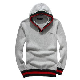Wholesale High Trade - Foreign trade original single men's Polo long sleeve sweater men hedging sweater half high zipper g sweater Men's cotton jacket 7127