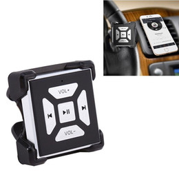 Wholesale Hot Wheels Remote - New Hot Car Wireless Bluetooth Media Music Steering Wheel Remote Control Button For Car Electronics Accessories
