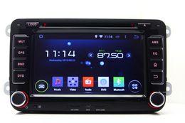 Wholesale Volkswagen Passat Dash Navigation - Android 4.4 Car DVD Player for Seat Altea Altea XL Leon Toledo with GPS Navigation Radio BT USB WIFI Video 4Core 1024*600
