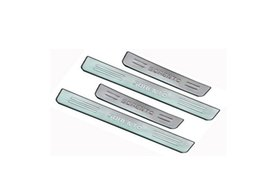 Wholesale Door Sill Kia - for KIA Sorento 2006-2013 Stainless Steel Scuff Plate Door Sill car accessories for KIA Sorento