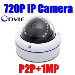 Wholesale Nightvision Dome - ONVIF FULL HD 720P Mini IP Camera Outdoor 1.0 Megapixel dome IR Nightvision webcam security camera