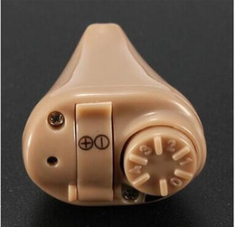 Wholesale Hight Sound - K-82 Adjustable Mini Dightal In-ear Best Invisible Sound Tone Enhancement Deaf Amplifier Volume Hearing Aids Aid Ear Assistance hight qualit