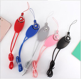 Wholesale E Cigarette Clips - Lanyard+USB CABLE+Phone Stand Necklace Chain String with Clip E-Cigarette Neck Chain Phone ID card Rope lanyards