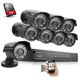 Wholesale Home Security Cctv 16ch - SANNCE 16CH 960H HDMI DVR 700TVL IR Home CCTV Security Cameras System Surveillance kit With 2TB HDD