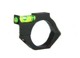Wholesale Rifle Tube - New RIFLESCOPE BUBBLE LEVEL Spirit Level for 30mm tube rifle scope ring