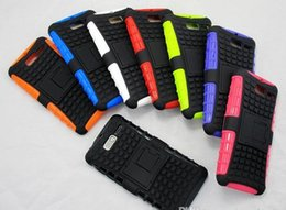 Wholesale Phone Covers For Razr - 500pcs TPU+PC Rugged Heavy Duty Defender Cell Phone Hybrid Kickstand Case For Motorola Moto RAZR i XT890 Cover With Stand ShockProof
