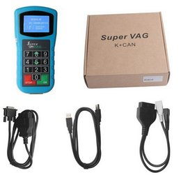 Wholesale New Vag Pin - New Arrival Super VAG K CAN Plus 2.0 Diagnosis Mileage Correction Pin Code Reader Super VAG K+CAN Plus 2.0 High Quality