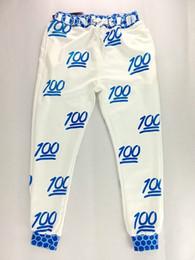 Wholesale Harem Pants For Womens - Wholesale-2015 New Fashion emoji joggers white black girls outfits for mens womens jogger sweatpants sports casual harem pants 9 colours