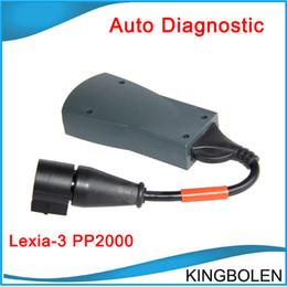 Wholesale lexia3 citroen peugeot diagnostic tool - Wholesale price Latest Version Lexia 3 Lexia3 Lexia-3 for Citroen&Peugeot Diagnostic Tool DHL Free Shipping