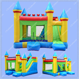 Wholesale Bouncy House Slide - Hot Selling Inflatable Combo Bounce House Bouncy Castle Moonwalk with Inflatable Slide,Free Blower Included