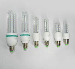 Wholesale E27 23w Bulb - 3U 4U CFL Ultra Bright 3W 5W 7W 9W 12W 16W 23W 30W LED lamp e27 110V Energy Saving LED Corn Bulb 220V led light for home