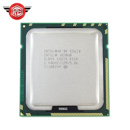 Wholesale Quad Cpu Server - Intel Xeon E5620 Quad 2.4GHz 12MB 5.86GT s SLBV4 LGA1366 CPU Server Processor