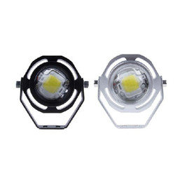 Wholesale Led Running Lights Inch - 2 Inch 1000LM 10W LED Eagle Eye Car Daytime Running Light Waterproof Auto Car Fog Lights Parking Signal Lamp