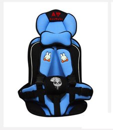 Wholesale Seat Car For Baby - The Spot Wholesale Children's Car Cushion Portable Convenient Baby Safety Seat Suitable For 1 To 4 Years Old Baby Heat Selling In 2015