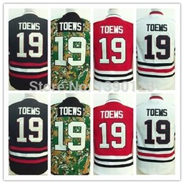 Deutschland 2016 New, Jugend Chicago Blackhawks # 19 Jonathan Toews Jersey Kinder Authentic Genäht Eishockey Trikots Shirt cheap hockey shirt kid Versorgung
