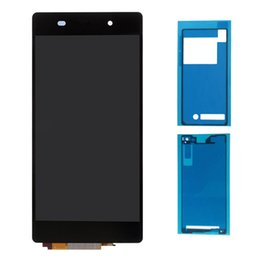 Wholesale Touch Screen Double Sided Tape - OEM Sony Xperia Z2 L50W D6503 D6502 D6543 Full LCD Display Touch Screen Digitizer Assembly with Double Side Adhesive Tape Black