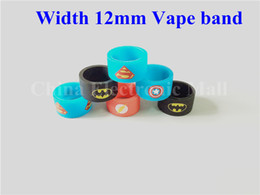 Wholesale Cheap Mechanical Ecig - Cheap price wholesale vaporizer vape band oem mechanical mod ecig silicone ring 500pcs