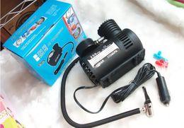 Wholesale Wholesale Mini Motorcycles - Micro-pump 12V car air pump. Tires with air, car air pump Mini Portable Inflatable Pump 10pcs a bag