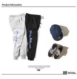 Wholesale Bboy Pants - 2017 high quality Japanese street hip-hop pants tide brand sportswear tide men casual pants trousers pants bboy jogger