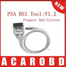 Wholesale Peugeot Bsi - Peugeot and Citroen odometer tool PSA BSI TOOL Odometer correction tool DHL Free Shipping
