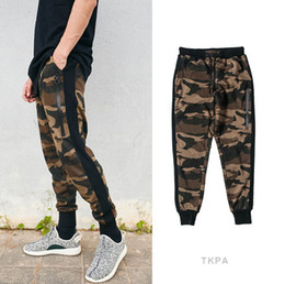 Wholesale Black Military Pants Men - Men Fashion Camouflage Military Pants Casual Sports Wear Clothing Pencil Pants Male Joggers