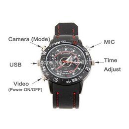 Wholesale Mini Spy Watch - 1pcs New mini camera 2015 Electric 8GB Hidden Mini DV DVR SPY Camera Camcorder Video Recorder 720*480 P Pocket Wrist Watch