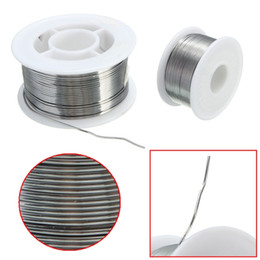 Wholesale Rosin Core Wire - New 100g 0.8mm 60 40 Tin Lead Solder Wire Rosin Core Soldering 2% Flux Reel Tube Welding Wires Safety order<$18no track