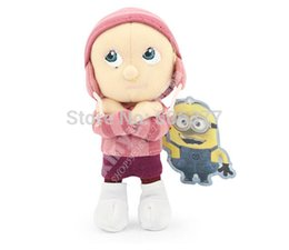 Wholesale Despicable Edith - New Movie 19CM Despicable Me Plush Toy Orphan Girl Edith Cute Stuffed Animal Doll