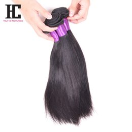 Wholesale Indian Virgin Remy Weave Sale - 2016 new arrival hot sale unprocessed virgin mongolian straight hair 7A Grade mixed lengh 3 pcs  lot virgin brazilian remy hair products HC