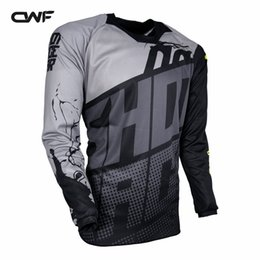 Wholesale off road mx - 3 Colors Moto GP Jersey MX MTB Off Road Mountain Bike DH Bicycle Motorcycle Riding Jersey DH BMX Downhill Motocross Jersey Size Racing Sets