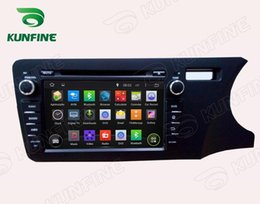 Wholesale Dvd Player For Honda City - Quad Core Android 5.1 Car DVD GPS Navigation Player for HONDA CITY 2014 RHD Radio Wifi 3G steering wheel control 1024*600 Screen