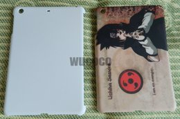 Wholesale Ipad Mini Photos - For ipad mini 1 2 3 generation blank sublimation print phone case custom photos case free shipping DHL Fedex wholesale 50pcs lot
