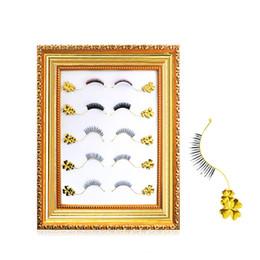 Wholesale Hair Board - 5pairs set Professional False Eyelashes Grafting Eyelash Auxiliary Tool Beautiful False Eyelash Style Display Board H016