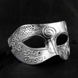 Masquerade Maske erkek retro Greko-Romen Gladyatör Glitter fighter Erkek Cadılar Bayramı Kostüm Partisi Maskesi Dans Parti Maskeleri nereden maskeli maskeler erkekler gladyatör tedarikçiler