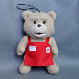 """Wholesale Ted Toys - Hot New 8"""" 20CM Genuine Teddy Ted Bear Stuffed Doll Anime Collectible Keychains Pendants Dolls Soft Party Gifts Plush Toys"""
