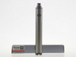 Wholesale Ego Twist Ce5 - VISION SPINNER II 2 3.3V-4.8V 1600mAh battery ego twist Variable Voltage electronic cigarettes for CE4 CE5 atomizer protank Adjustable vapor